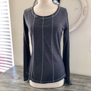 Prana Tops - 🌵3/25 Prana Gray Yoga long sleeve top size S